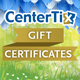 Gift Certificates at Various Venues